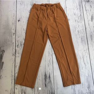 Vintage 70's bell bottom pants gold colorway